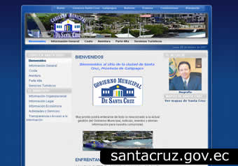 portal gobierno municipal de santa cruz - galapagos