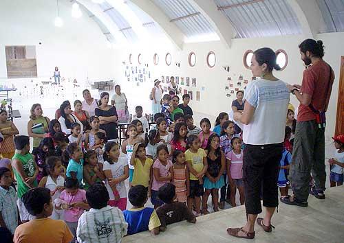 Talleres de arte en Isla Isabela