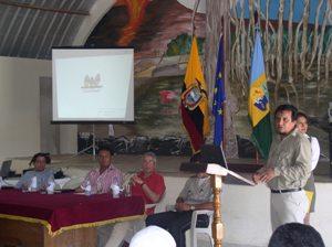 Ing. Carlos Zapata Erazo - Director Ejecutivo de FUNDAR GALÁPAGOS